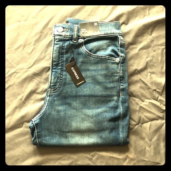 Express Denim - Skinny High Rise Express Jeans
